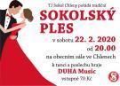 Sokolský ples - Chleny 1