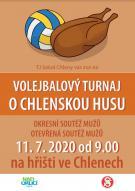 Volejbalový turnaj - plakát